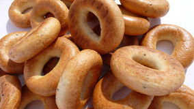 Bread_ring_00. Nice little bread rings for tea Royalty Free Stock Photos