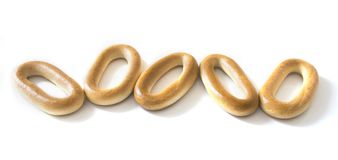 Bread rings Stock Photo