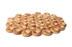 Bread rings isolated Royalty Free Stock Images