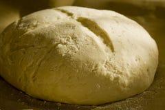 Bread rising. Sun shining on a rising bread Royalty Free Stock Photo