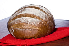 Bread Roll. Loaf of bread in a round form Stock Image