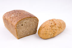 Bread and roll Royalty Free Stock Photography