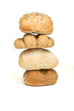 Bread roll abstract Royalty Free Stock Images