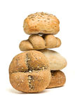 Bread roll abstract Stock Images