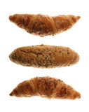 Bread Roll and Croissants Stock Photo