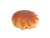 Bread roll, isolated Stock Images