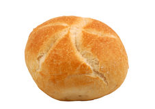 Bread Roll, isolated Stock Image