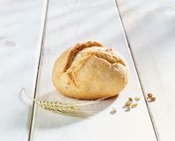 Bread roll. Bread - roll on white background Royalty Free Stock Photo