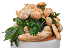 Bread rolls. Stock Image