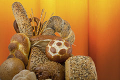 Bread and rolls Royalty Free Stock Images