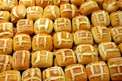 Bread Rolls 2 Stock Photos