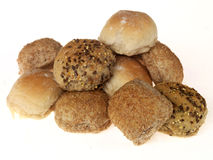 Bread rolls Stock Images