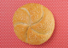 Bread rolls background(vintage look) Stock Images