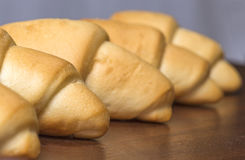 Bread rolls. Closeup shot of bread rolls Royalty Free Stock Photo