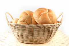 Bread rolls isolated Royalty Free Stock Image