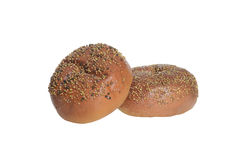 Bread rolls with seeds Stock Image