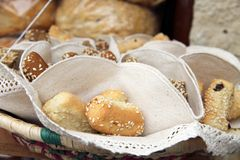 Bread rolls Spain Royalty Free Stock Images