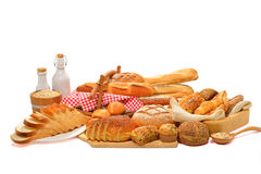 Bread and rolls Royalty Free Stock Photo