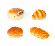 Bread. Rubber simulation bread  on white background Stock Image