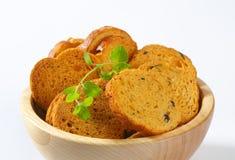 Bread rusks Royalty Free Stock Photo