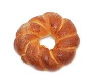 Bread 'Russian kolatch', isolated Royalty Free Stock Photo