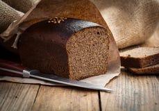 Bread rye stock photo