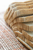 Bread. Rye sliced bread on the table Stock Photos