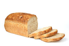 Bread from rye and wheat flour Royalty Free Stock Photos