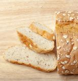 Bread from rye and wheat flour Stock Image