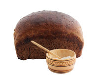 Bread and salt Royalty Free Stock Image