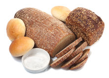 Bread-and-salt welcome Stock Photography