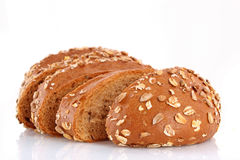 Bread with   seeds Stock Image