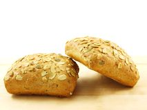 Bread with seeds Royalty Free Stock Photo