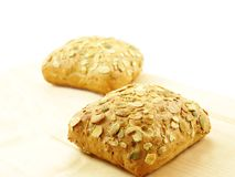 Bread with seeds Royalty Free Stock Image