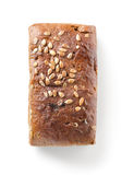 Bread with seeds isolated Stock Photo