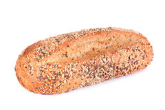 Bread with seeds isolated Stock Photos