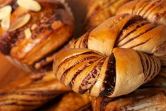 Bread selection Stock Images