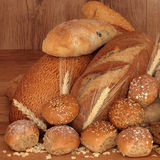 Bread Selection Royalty Free Stock Photography