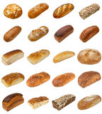 Bread selection Stock Photography