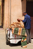 Bread seller Royalty Free Stock Photography