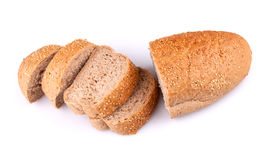 Bread with sesame Royalty Free Stock Photos