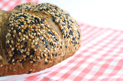 Bread with sesame Royalty Free Stock Image