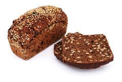Bread with sesame seeds Royalty Free Stock Photos