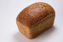 Bread with sesame seeds Stock Image