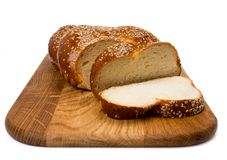 Bread with sesame Royalty Free Stock Photography