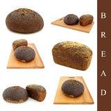 Bread set Royalty Free Stock Images
