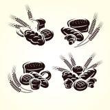 Bread set. Vector stock illustration