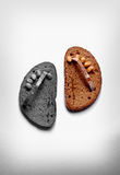 Bread shoes Stock Photography