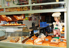Bread shop Stock Images