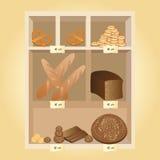 The bread shop Stock Photo